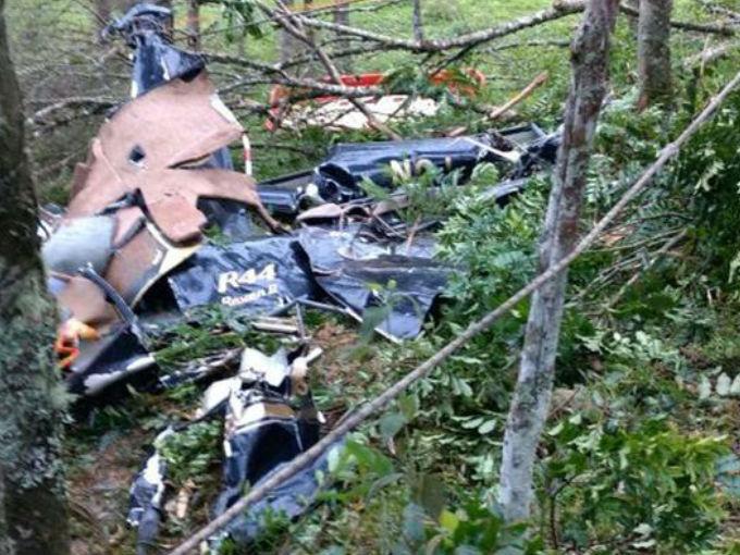 Novia fallece en accidente de helicóptero camino a su boda