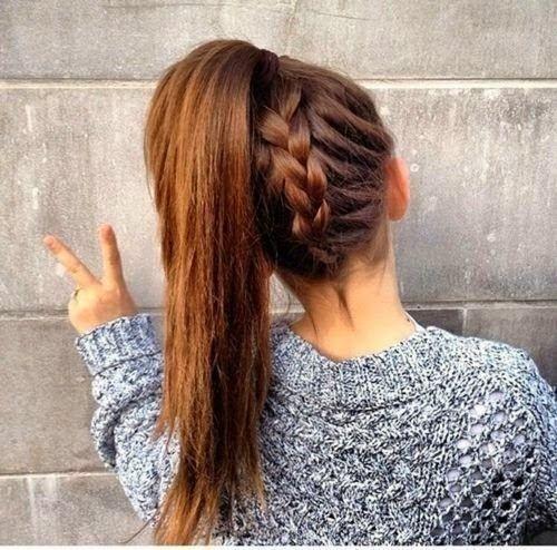 las colas de caballo no tienen que ser aburridas ni flat dale un twist a tu peinado con una trenza