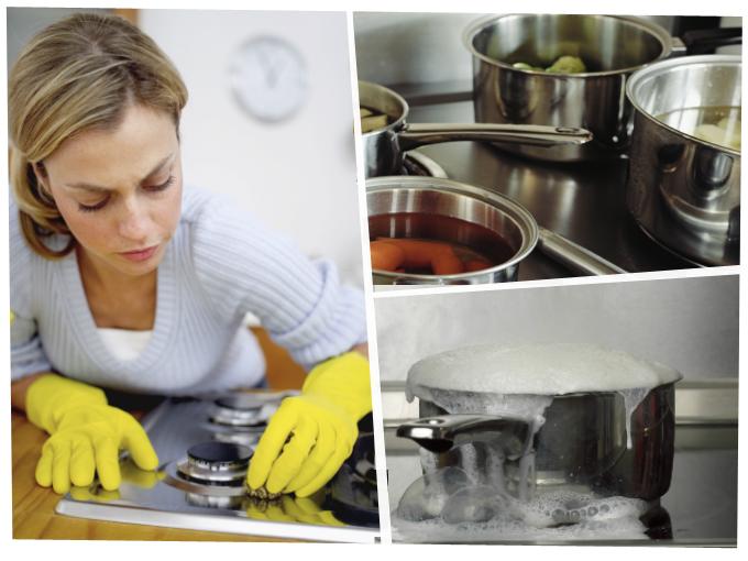 Limpia tu estufa en menos tiempo actitudfem - Limpiar quemadores cocina gas ...