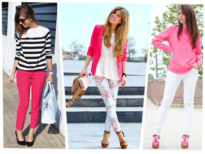 Como combinar el color rosa para primavera actitudfem for Combinacion de color rosa