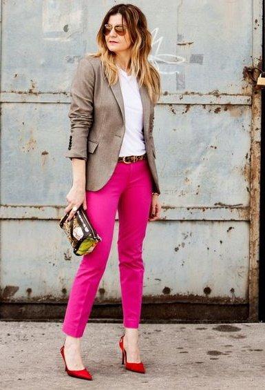 Como combinar el color rosa para primavera soyactitud for Combinacion de color rosa