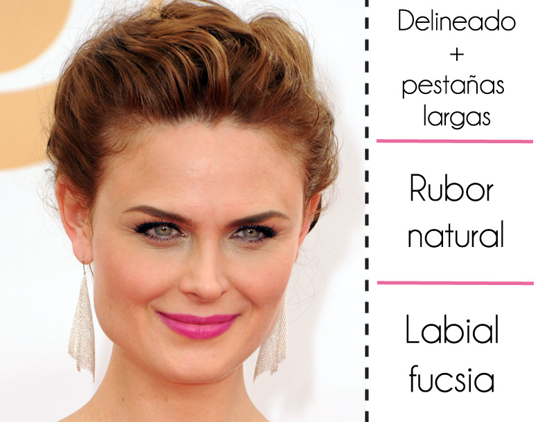emmy 2013 mejor maquillaje soyactitud