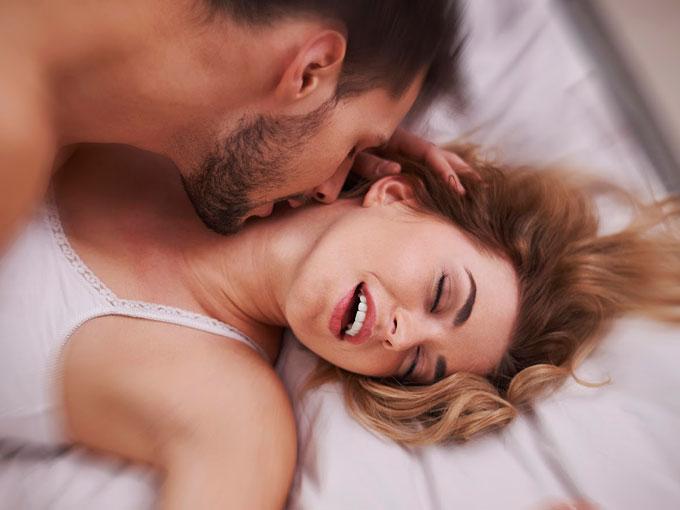 Pareja sexo orgasmo