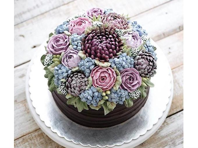 Hermosos pasteles para quienes AMAN las suculentas