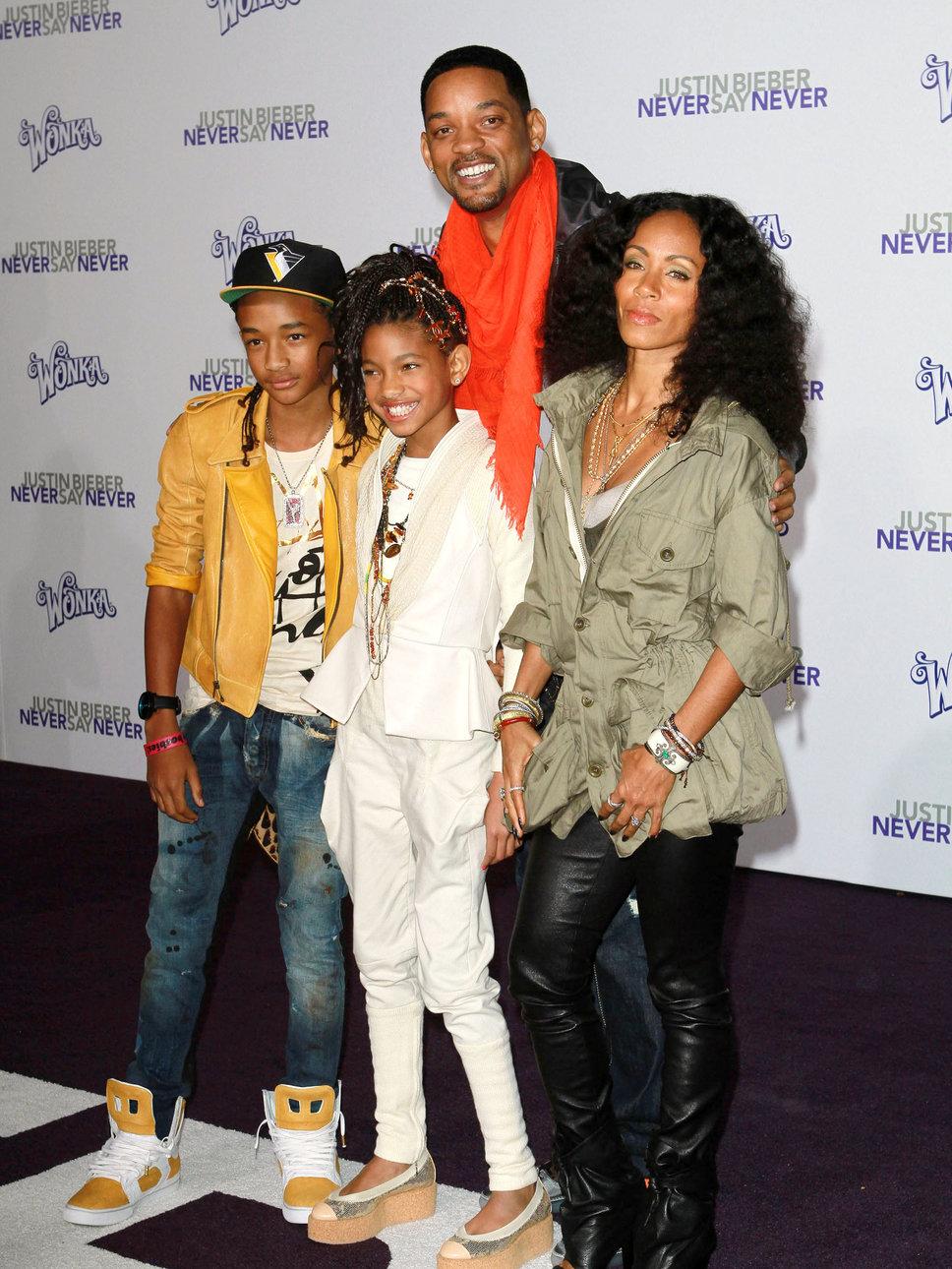 Смит уилл и его дети фото