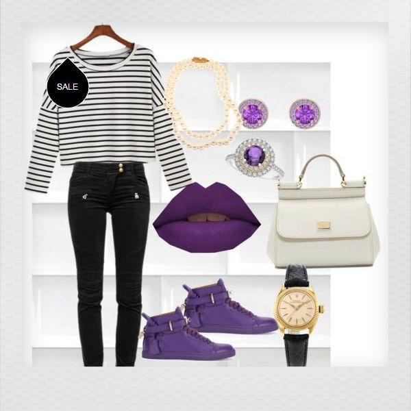 Con qu ropa usar lipstick morado soyactitud - Combinar color lila ...