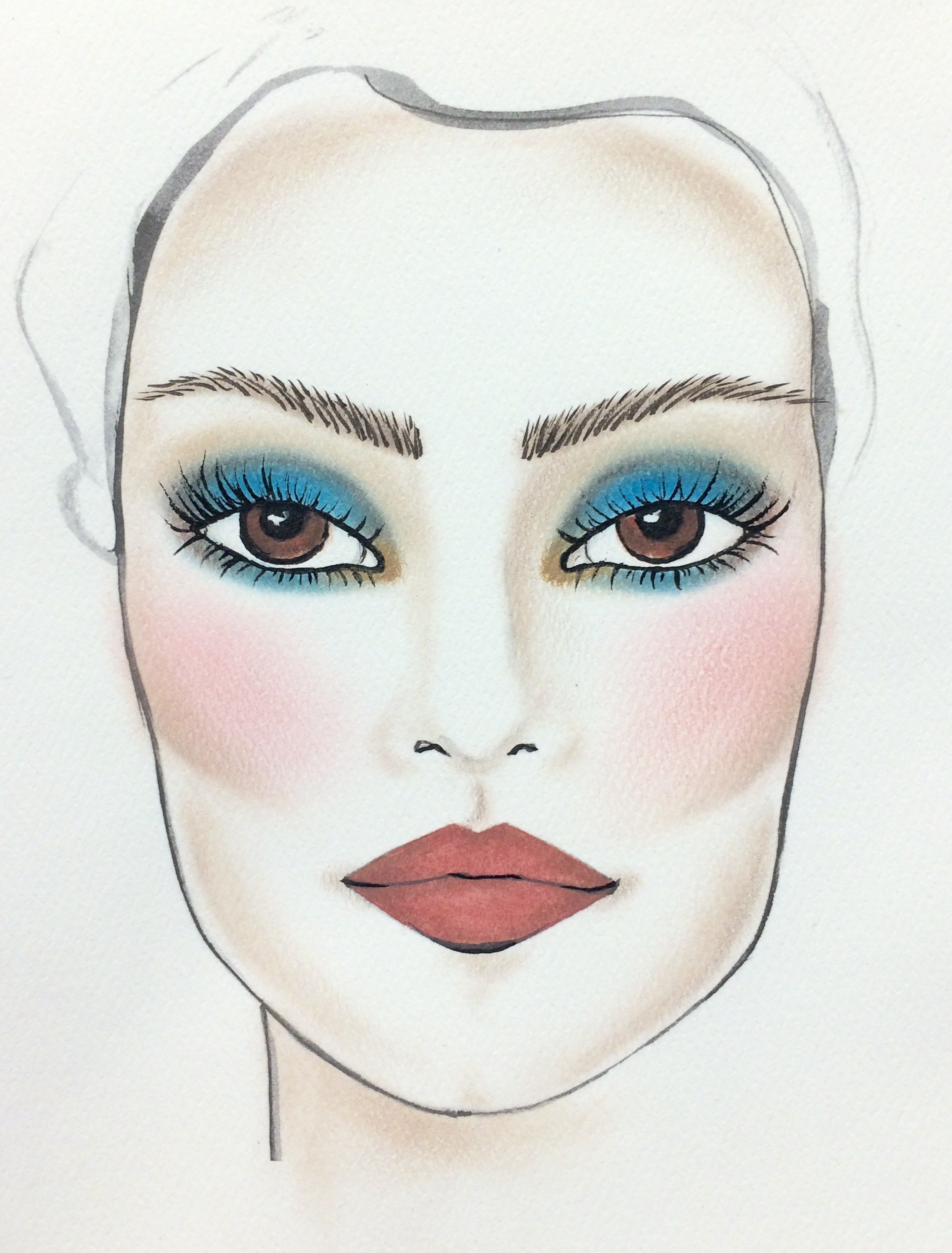 El Maquillaje M 225 S Impactante Para Ojos Caf 233 Soyactitud