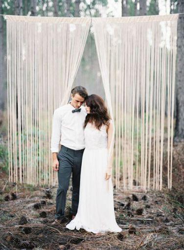 Fotos de boda escenarios creativos soyactitud - Cortinas para escenarios ...