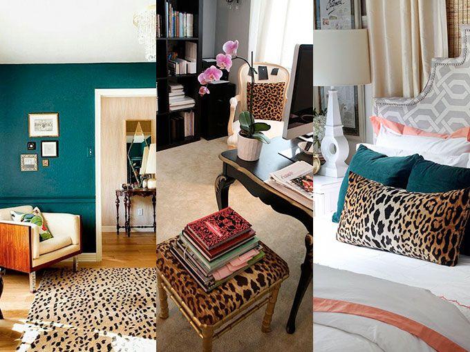 9 maneras de decorar con leopardo actitudfem for Decoracion hogar leopardo