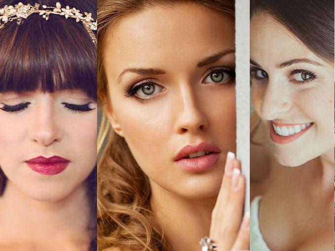 si ests pensando en qu tipo de maquillaje te gustara para tu boda dale una