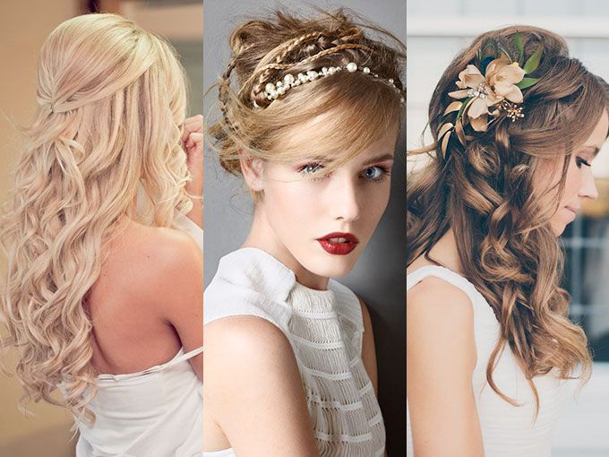 el peinado que lleves el da de tu boda es muy importante piensa en l