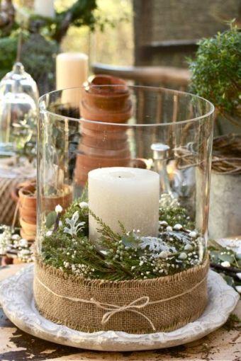 sustituye las flores por una vela