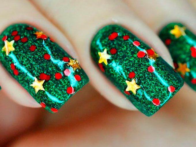 Increíble Navidad Fresco Diseña Uñas Patrón - Ideas de Pintar de ...