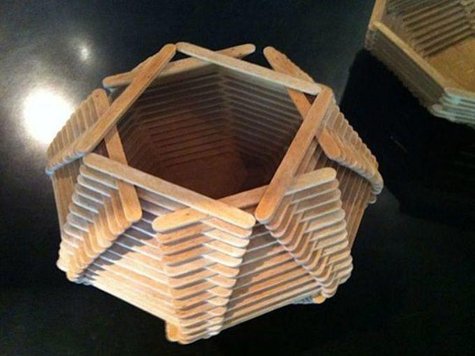 33 manualidades que puedes hacer con palitos de paleta - Trabajos artesanales para hacer en casa ...