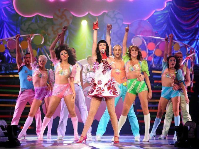 Mujeres Música Katy Perry Cabello Azul Desgaste Cantantes: Reseña Katy Perry