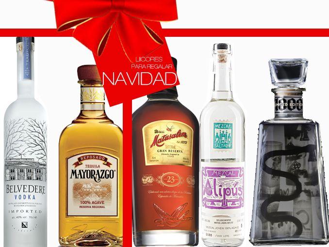 botellas para regalar en navidad