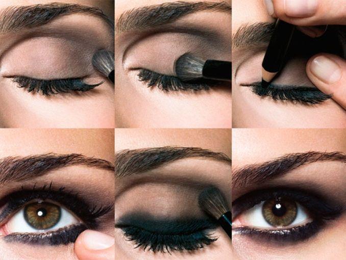 Tutorial de smokey eyes actitudfem for Como se maquillan los ojos ahumados