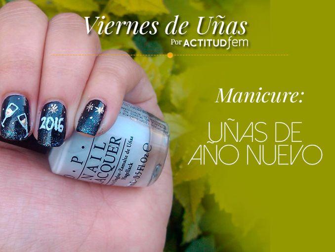 Manicure para año nuevo 2016 | ActitudFem