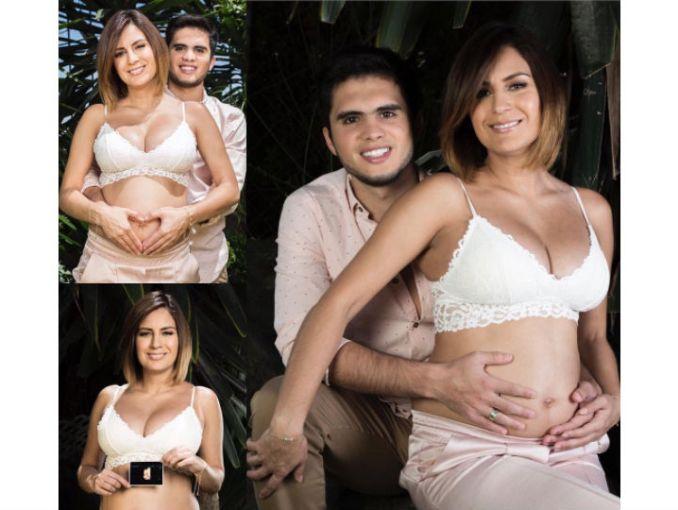 La clavadista Paola Espinosa comparte foto de su embarazo bajo el agua