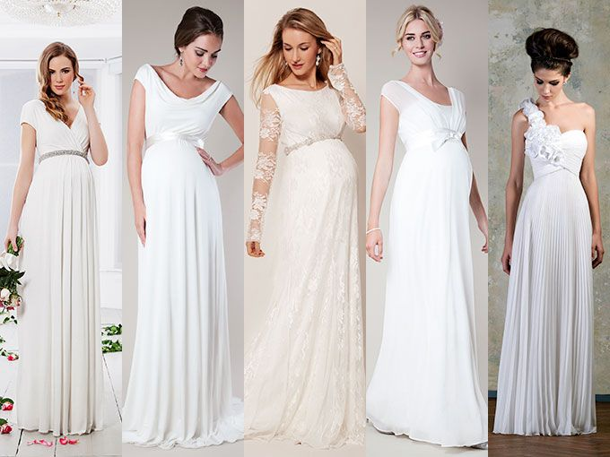 ahorrar 80851 01c84 Vestidos de novia para embarazadas   ActitudFem