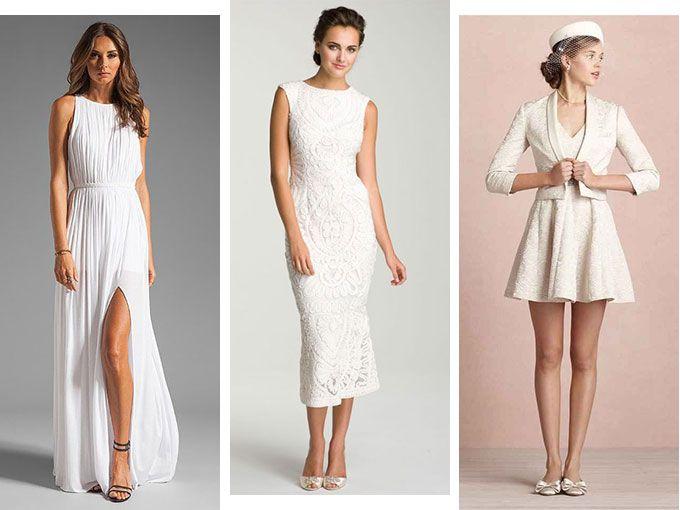 estilo de moda mirada detallada estilo exquisito vestidos para boda civil 2015   ActitudFem