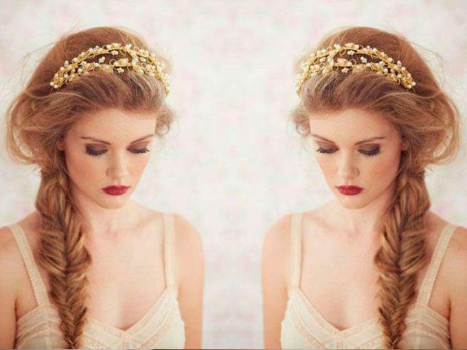10 Peinados Con Trenzas Para Novias Actitudfem