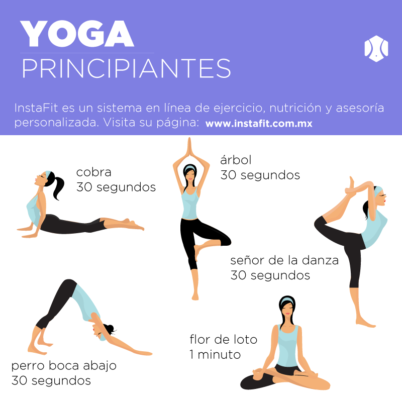 Rutina de yoga para principiantes actitudfem - Ejercicios yoga en casa ...