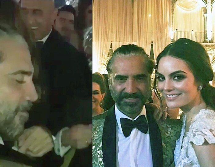 Matrimonio Ximena Navarrete : La espectacular boda de ximena navarrete radiante reina