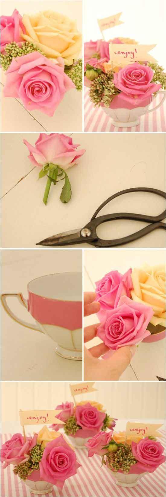 Como Hacer Arreglos De Flores Para Bodas Diy Actitudfem