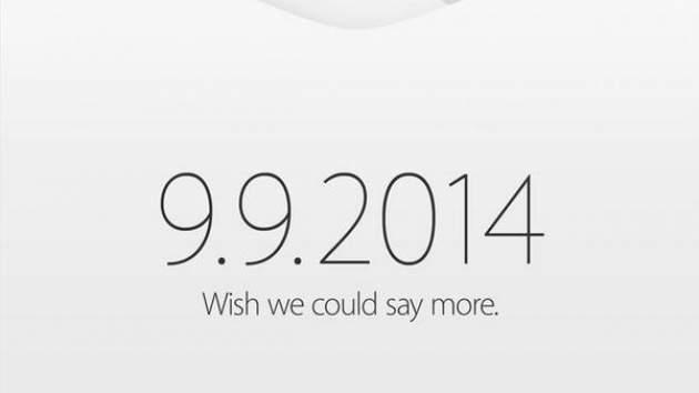 Apple Lanzará Iphone 6 el 9 de Septiembre