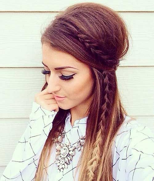 Best 25+ Easy long hairstyles ideas on Pinterest   Easy hairstyles ...