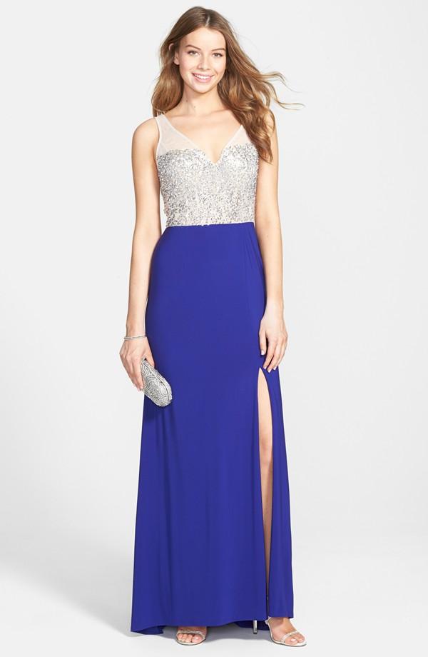 3b49f28ce Vestidos mas lindos de graduacion - Vestido azul