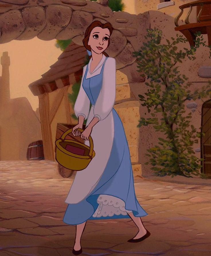La Razón Por La Que Las Princesas De Disney Llevan Ropa