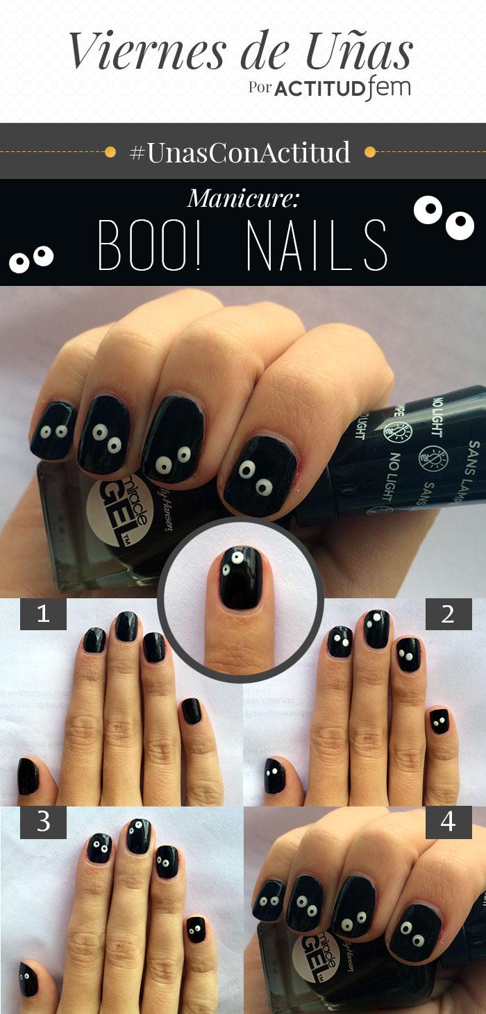 Manicure para Halloween [FOTOS] | ActitudFem