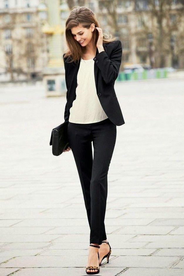 Estilo casual formal mujer