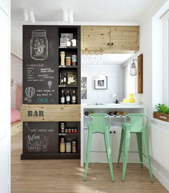 Muebles para espacios peque os actitudfem for Muebles de cocina para espacios pequenos