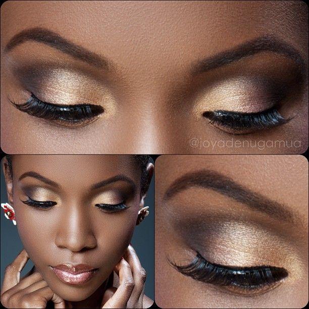 Cómo Maquillar Los Ojos Para Fin De Año Actitudfem
