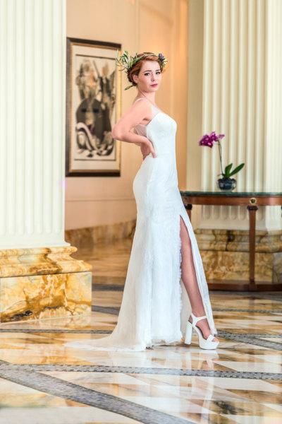 Vestidos de novia media pierna