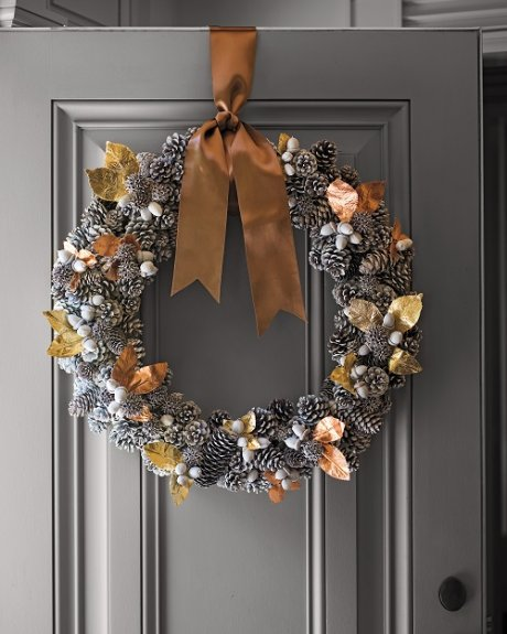 Como hacer coronas de navidad actitudfem for Coronas de navidad hechas a mano