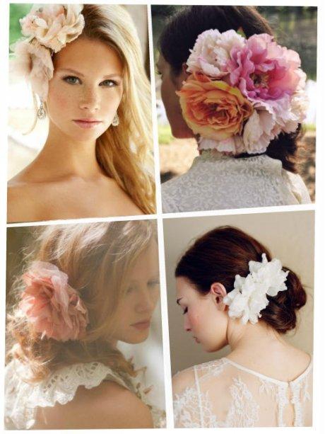 Accesorios para el cabello: flores en primavera | ActitudFEM