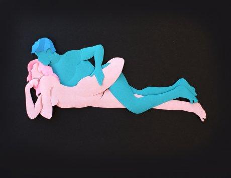 Posiciones sexuale mas placenteras para ellos con imagenes