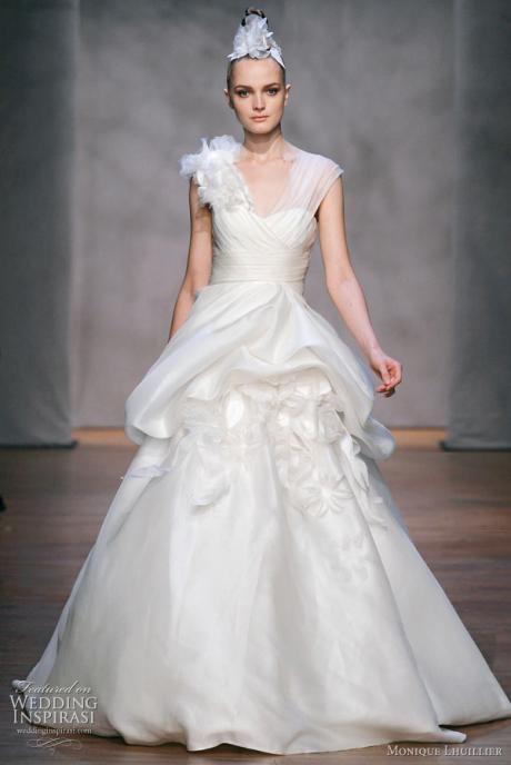 Los mejores vestidos de novia de Monique Lhuillier | ActitudFem