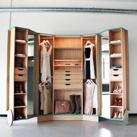 Tips para organizar tu closet actitudfem for Ideas para closets pequenos