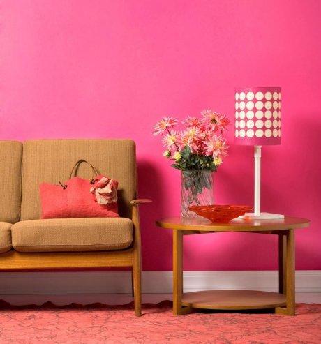 Como decorar con rosa actitudfem - Como hacer colores para pintar paredes ...