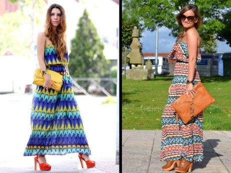 Telas para vestidos largos de verano