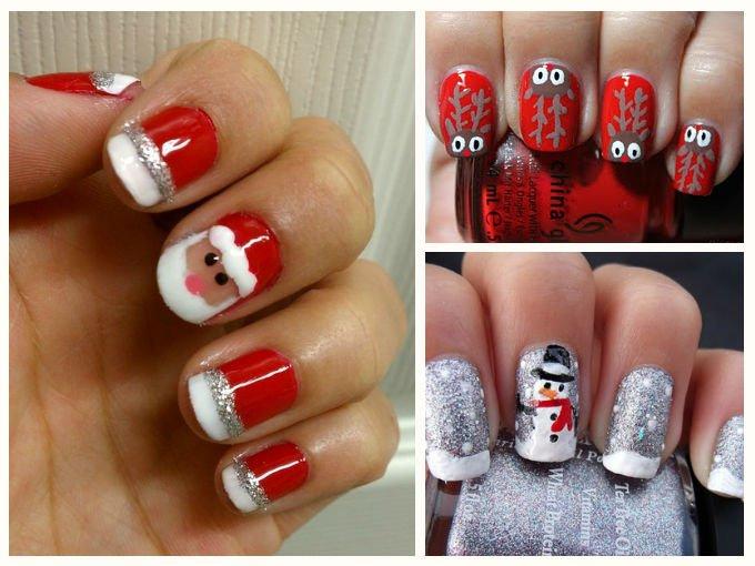 FOTOS Uñas decoradas para navidad