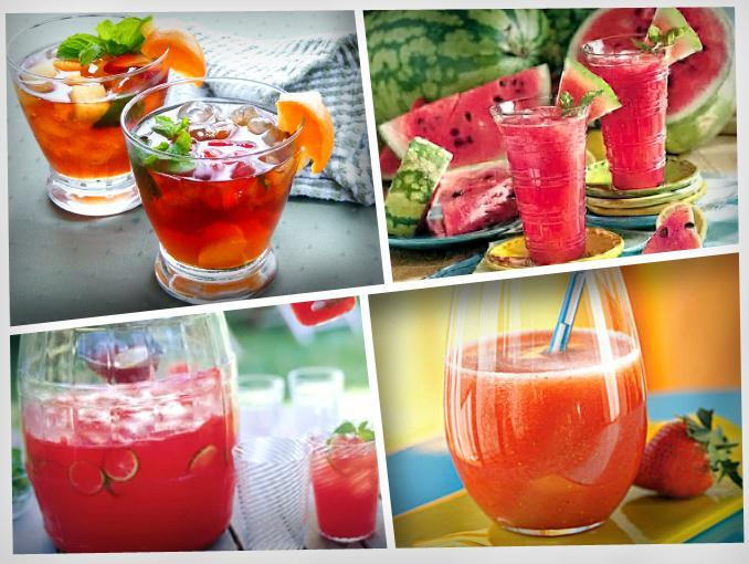Agua de frutas imagui for Aguas frescas citricas naturales con