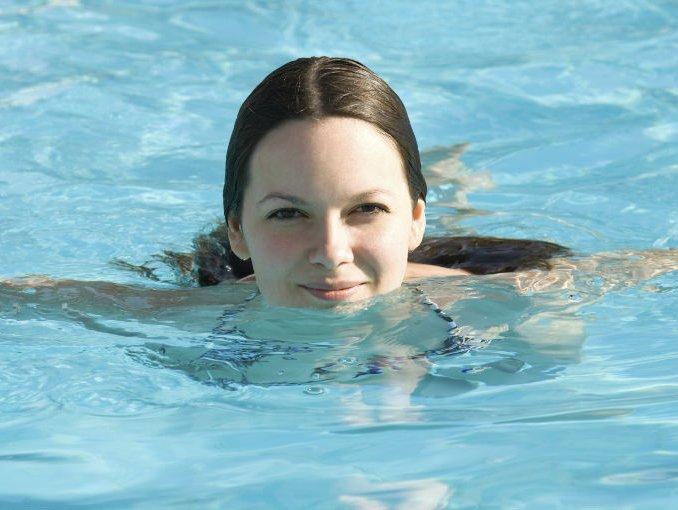 Фото купания в бассейне 6 фотография