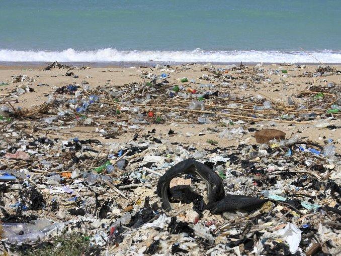 Una gigantesca isla de basura en el Pacífico
