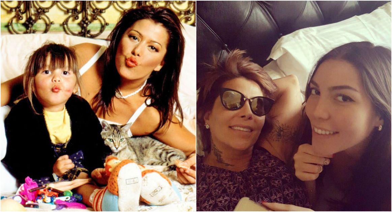 15 imágenes que prueban cómo ha cambiado la relación de Alejandra ...